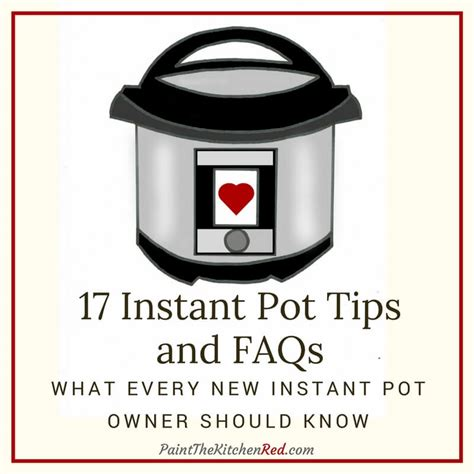 17 best images about instant 17 instant pot tips and faqs frequently asked questions