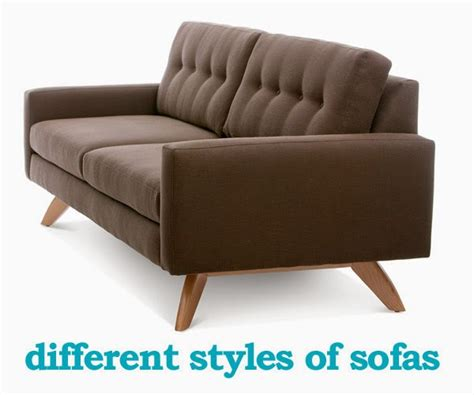 different types of sofas store of modern furniture in nyc
