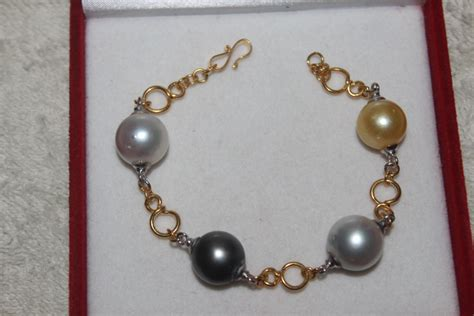 Gelang Mutiara Laut 6 perhiasan mutiara air laut holidays oo