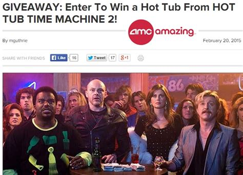 Amc Com Sweepstakes - amc hot tub time machine 2 sweepstakes sweeps maniac