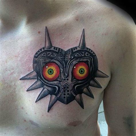 majoras mask tattoo 50 majora s mask designs for the legend of