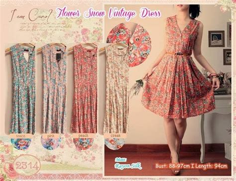 Dress Rajut Vintage lala shop