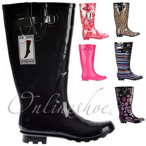 size 11 wide calf boots new wide calf leg wellies wellington festival