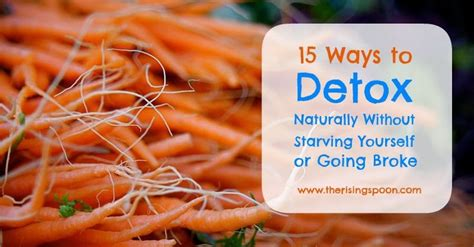 Healthiest Ways To Detox Your From Drugs by Fifteen Ways To Detox Naturally Without Starving Yourself