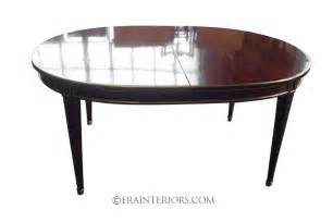 Mahogany Dining Table Sheraton Oval Mahogany Dining Table Era Interiors