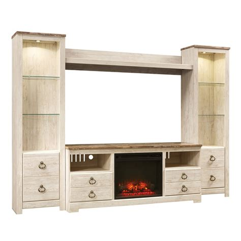 willowton  piece wall unit bernie phyls furniture