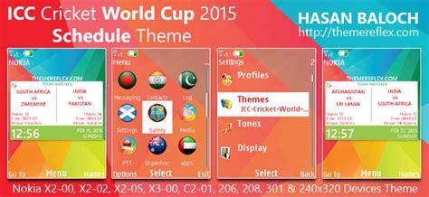 themes nokia 206 cricket icc cricket world cup 2015 themes themereflex