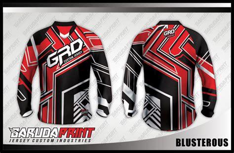 Kaos Jersey Gowes Sepeda Indonesia 3 Lengan Panjang konveksi kaos jersey sepeda desain sendiri pilihan terbaik garuda print garuda print
