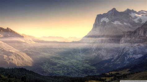 download mountain valley view wallpaper 1920x1080