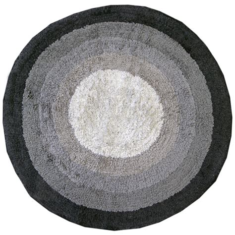 Circular Bathroom Rugs 100 Cotton Bath Mats Bathroom Washable Mat Towel Like Ebay