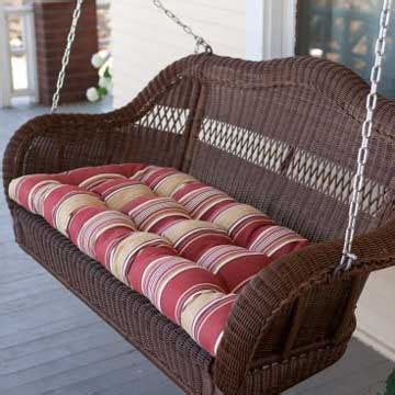 porch swing wicker wicker porch swing white wicker furniture