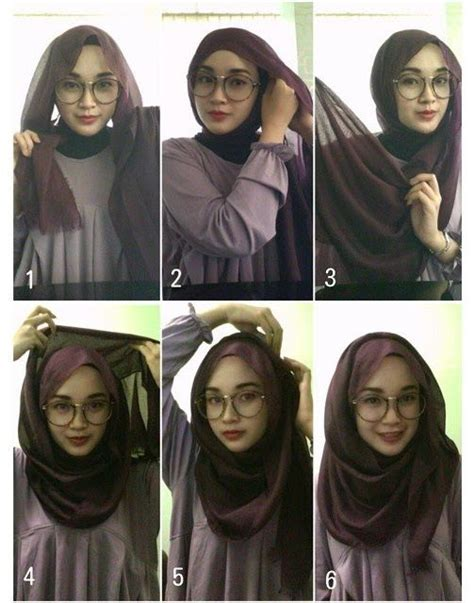 tutorial hijab desi ratnasari 1000 images about cara pakai shawl on pinterest simple