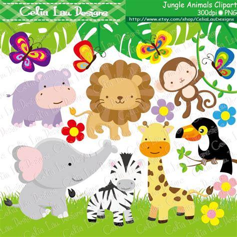 clipart animali clipart animali giungla baby giungla animali clipart