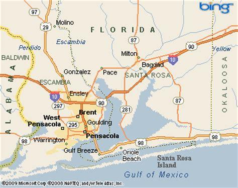 where is santa rosa florida on a map midway santa rosa co florida