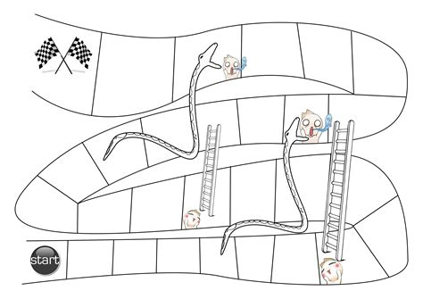 snakes and ladders printable template teaching stuff gaijin chameleon