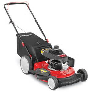 Troy Bilt Honda Shop Troy Bilt Tb130 160cc 21 In 3 In 1 Gas Push Lawn