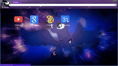 google themes luna luna in space chrome theme by pink618 on deviantart