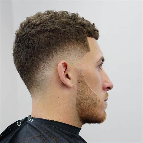 mens afro faded sides long on top hairstyles low fade vs high fade haircuts