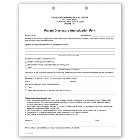 sle of hipaa authorization form two part patient disclosure authorization hipaa form