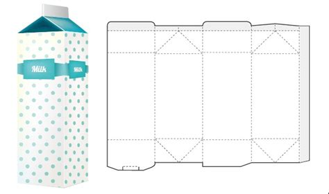 box packaging template vector 04 vector cover free download