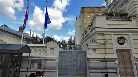 netherlands embassy map diplomat attacked in moscow amid rising tensions