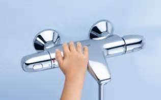 grifos termicos nuevos grifos termost 225 ticos para ducha y ba 241 o grohe