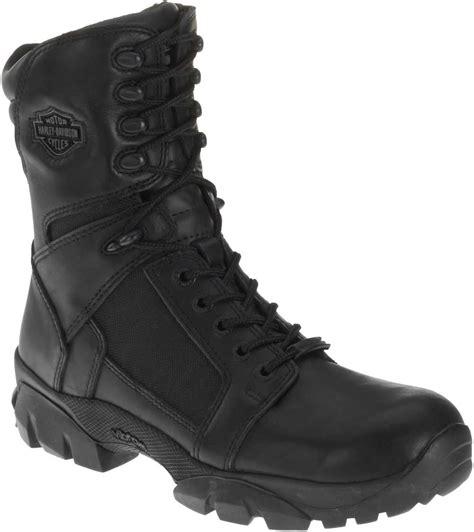 mens waterproof motorcycle boots harley davidson men s lynx waterproof black 8 inch