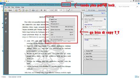 convert pdf to word yang terkunci cara membuka file pdf yang terkunci secured seo mudah