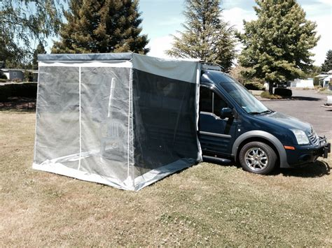 trim line awning screen room zipped in place ford