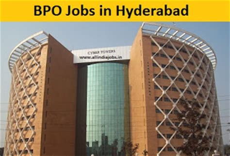 Career In Bpo After Mba by Bpo In Hyderabad 11256 Vacancies Opening Freshers
