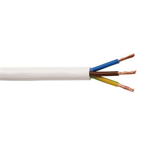 Kabel 1500 Meter 075inci schlauchleitung h05vv f 3 g2 5 wei 223 1 m kaufen bei obi