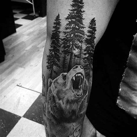 bear tattoo designs for men 80 california designs for grizzly ink ideas