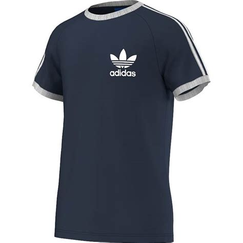 T Shirt Adidas Navy Check Bluesky adidas sport ess t shirt navy bei kickz