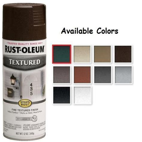 rustoleum textured paint colors taupe rustoleum stops rust textured spray paint