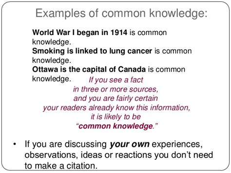 apa format common knowledge reference lists and citations apa