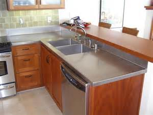 countertop ideas stainless steel countertops ideas