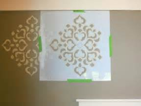 paint templates for walls how to stencil a focal wall hgtv