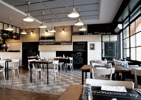 cafe design italy la cucineria restaurant by noses architects rome italy