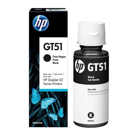 Tinta Gt51 Hp Gt51 Botella De Tinta Negro