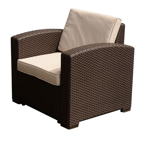 Rattanstühle by Outsunny Rattan Style Resin Wicker Outdoor Furniture