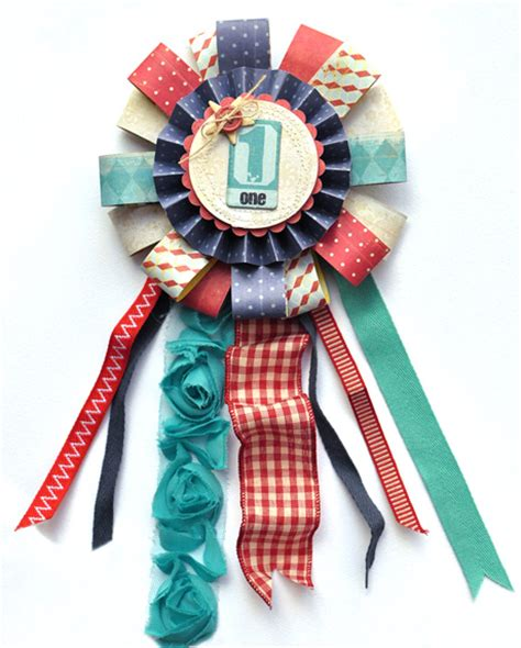 How To Make Ribbon Paper - crate paper summer award ribbons crate paper