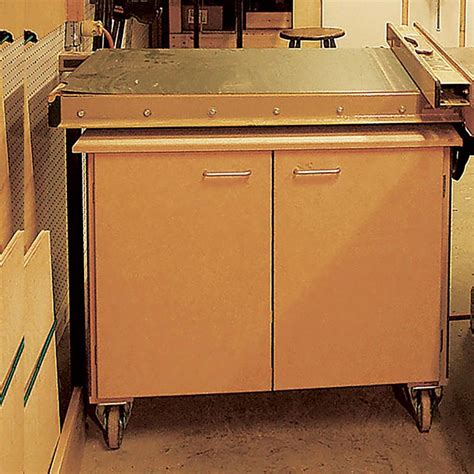 rolling tool cabinet plans rolling tool cabinet woodworking plan from wood magazine