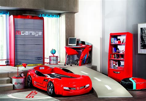 Car Room Decor Bedroom Car Set Renovation Www Chicaswebcam Co Race Ideas Cars Within Decor Corvette Toddler Bed