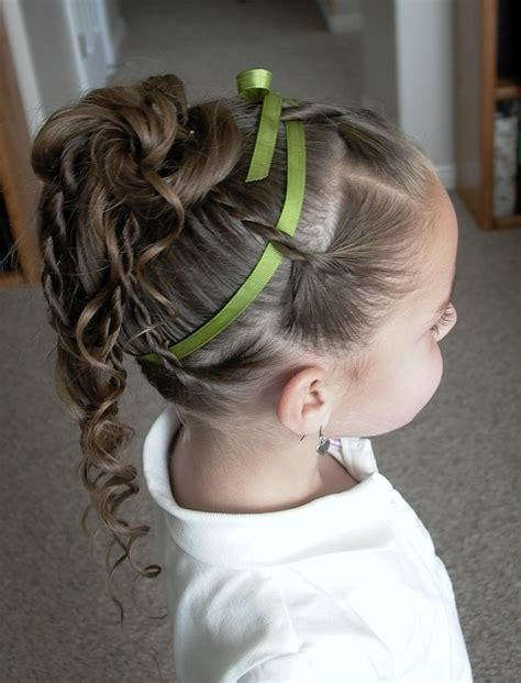 little girl hairstyles updo pretty hair is fun how to do a twist braid updo video