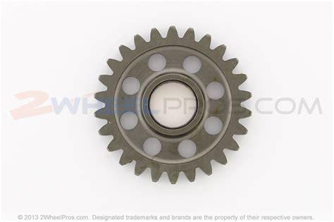 Gear Spur Idle 59051 0785 kickstarter mechanism replacement parts for 1999 kawasaki