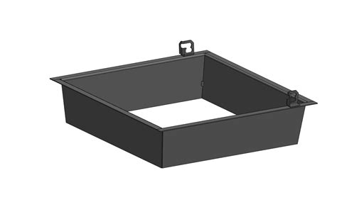 rectangle pit insert square inserts the firepit source