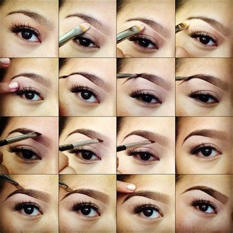 tutorial makeup eyebrow step by step eye makeup pics my collection
