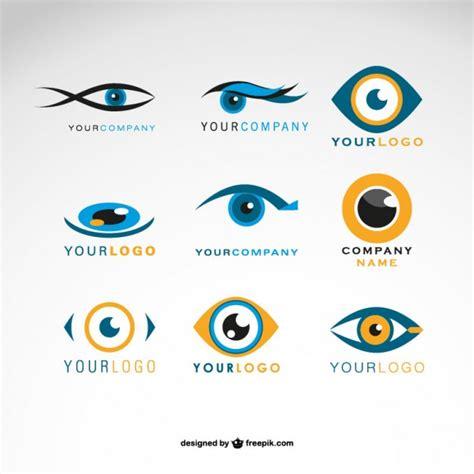 imagenes ojos gratis conjunto de logotipos de ojos descargar vectores gratis