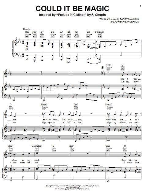 theme song looks like we made it could it be magic sheet music direct