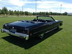 73 Cadillac Eldorado Convertible 1973 Cadillac Eldorado Black Convertible